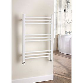Kudox Timeless Designer Towel Radiator White 700 x 500mm 255W 870Btu