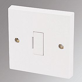 Marbo 13A Unswitched Fused Connection Unit White