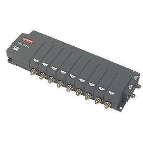 Labgear LDA2081L/S 4-Way VHF / UHF Aerial Amplifier 2 Inputs 8+1 Outputs