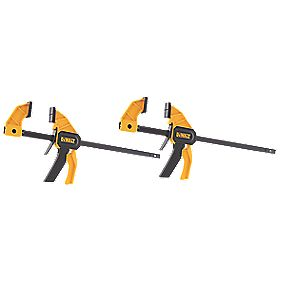 "DeWalt Trigger Clamps 12"" Pack of 2"