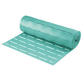 Acoustalay Slatted 'Glue-Through' Foam Underlay 3mm 16.5m² Green