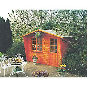 Goodwood Summerhouse 3 x 1.8 x 2.3m Assembly Included