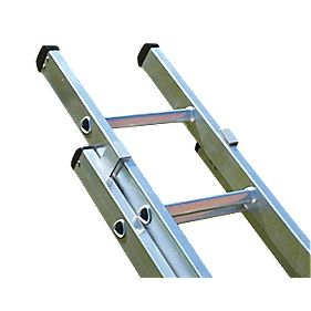 Lyte 2-Section Extension Ladder 13 Tread Max. Height 6.2m