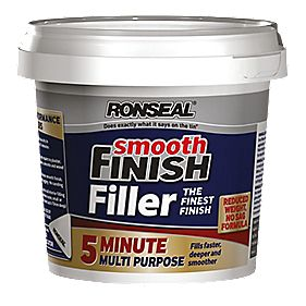 Ronseal 5 Minute Multipurpose Ready Mixed Filler White 290ml