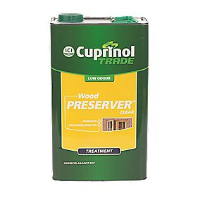 Cuprinol Wood Preserver Clear 5Ltr