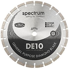 Maestroseries DE10 General Purpose Diamond Blade 230 x 3 x 22.2mm