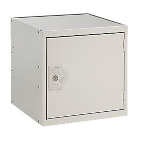 Security Cube Locker 300mm Grey