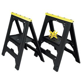Stanley V Groove Saw Horses Twin Pack