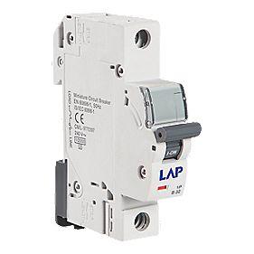 LAP 1G 10A SP Type B Curve MCB