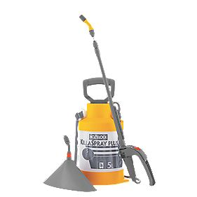 Hozelock KillaSpray Plus Hose Pesticide Sprayer 5Ltr