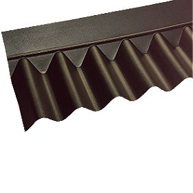 Coroline Apron Flashing Black 930mm x 930mm Pack of 5