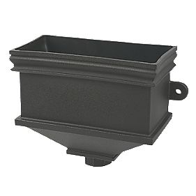 FloPlast Cast Iron Effect Hopper