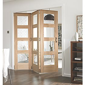 Jeld-Wen Divider Glazed 3-Door Interior Room Divider 2052 x 1934mm