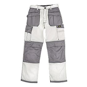 "Site Hound Holster Trousers White 40"" W 32"" L"