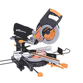Evolution Rage 3 255mm Compound Sliding Mitre Saw 230V