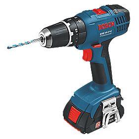 Bosch GSB 18-2-LI L-Boxx 18V 1.3Ah Li-Ion Cordless Combi Drill with L-Boxx