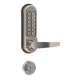 Securefast Heavy Duty Push Button Lock with Mortice Lock