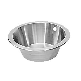 Pyramis Royal Mini Kitchen Sink Stainless Steel 1 Bowl 356 x 170mm