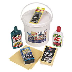Turtle Wax Car Care Valeting Bucket 6 Piece Set