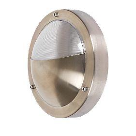 Zanzibar Silver Round Bulkhead 60W