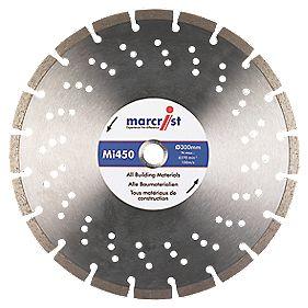 Marcrist MI450 Segmented Universal Diamond Blade 300 x 20mm