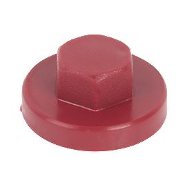 Rawlplug Protective Caps Red M8 Pack of 100