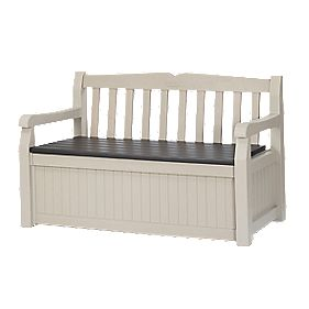 Keter Ltd Eden Garden Storage Bench 1.4m x 0.6m x 0.8m (Nominal)