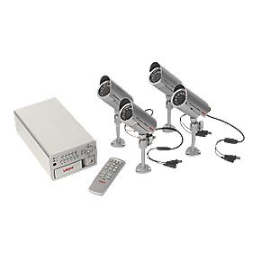 Labgear GB 4-Channel CCTV & DVR Recorder Kit