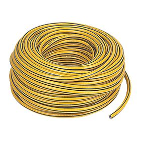 "Hozelock Maxi Plus Hose Yellow / Grey 50m x "" (mm)"