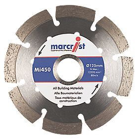 Marcrist MI450 Diamond Blade 125 x 22.23mm