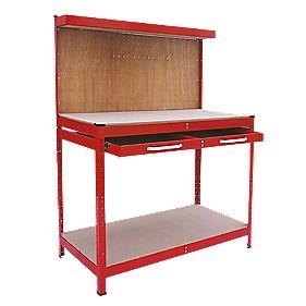 Workbench Red 1150 x 560 x 1440mm