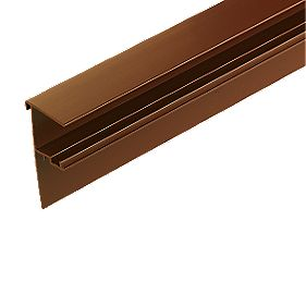 Corotherm Side Flashing Brown x 25 x 4000mm Pack of 2