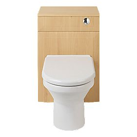 Bathroom Vanity Toilet Unit Beech 500mm