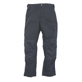 SNICKERS CLASSIC WORK TROUSERS NAVY W33 L35