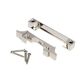 Mortice Latch Rebate Kit Nickel Plated 93 x 20 x 14mm