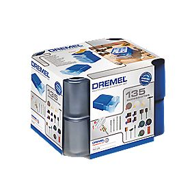 Dremel 721 Multipurpose Modular Accessory Set 3.2mm Shank 135 Pieces