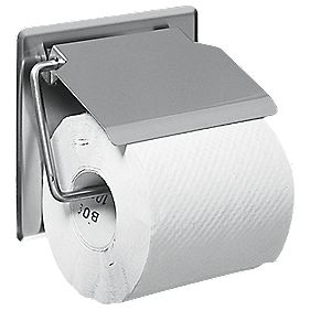 Franke Single Toilet Roll Holder with Cover
