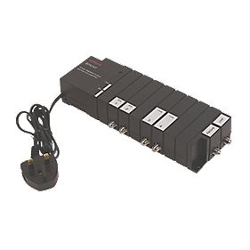 4-Way Stepped Amplifier