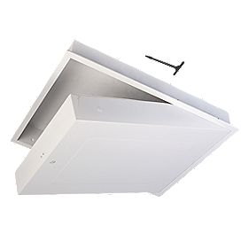 GL280F Drop Down Fire Rated Loft Access Door White 562 x 726mm