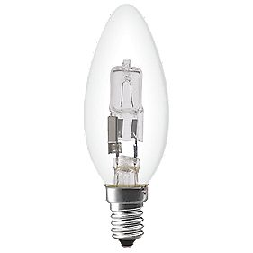 Sylvania Halogen Halogen ECO Candle SES 370Lm 28W