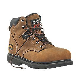 "Timberland 6"" Welted Safety Boots Gaucho Size 9"