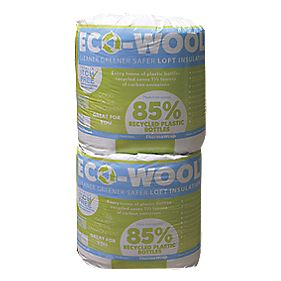 ThermaWrap Eco-Wool Loft Insulation 3.94m² Pack of 2