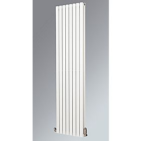 Fortuna Duplex Vertical Designer Radiator White 1800 x 590mm 6253BTU