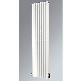 Fortuna Duplex Vertical Designer Radiator White 1800 x 590mm 6253BTU
