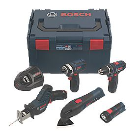 Bosch 10.8V 1.5Ah Li-Ion Cordless 5 Piece Kit