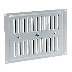 Map Vent Adjustable Vent Silver 152mm x 229mm