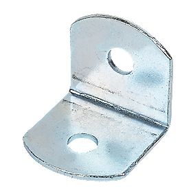 Angle Braces Self-Coloured 19 x 19 x 1.2mm Pack of 50