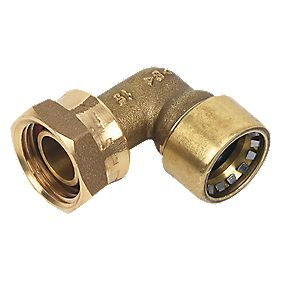 Conex Push-Fit 002G Bent Tap Connector 15X½