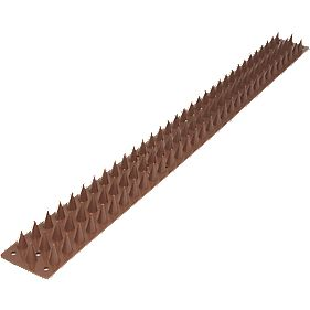 Brown Wall Spikes Pack of 8