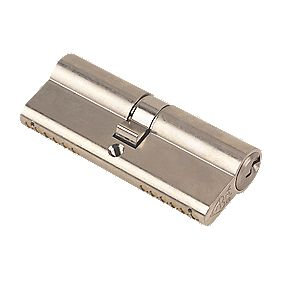 Yale KM Series Euro Double Cylinder Lock 40-40 (80mm) Satin Nickel